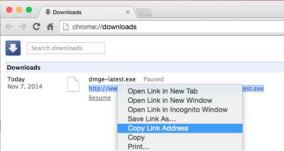 Thủ thuật Resume download khi tải file bị lỗi trên Chrome
