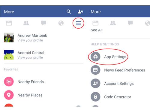 facebook2 - Hướng dẫn tắt trình duyệt mặc định của Facebook