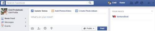 Các phím tắt sử dụng Facebook trên trình duyệt web
