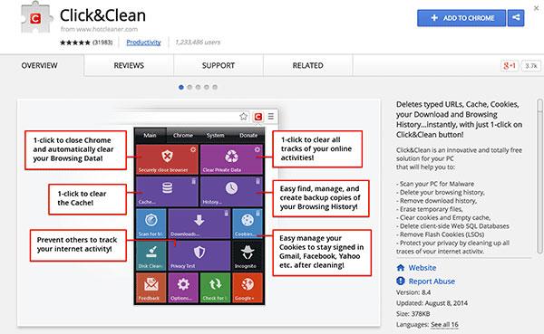 Thủ thuật tự động xóa dữ liệu khi đóng trình duyệt Chrome, Firefox