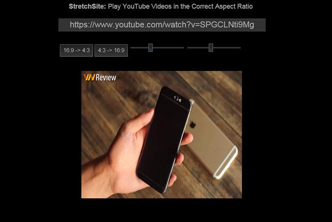 1472774 - Cách xem phim YouTube ở bất kỳ tỷ lệ khung hình nào