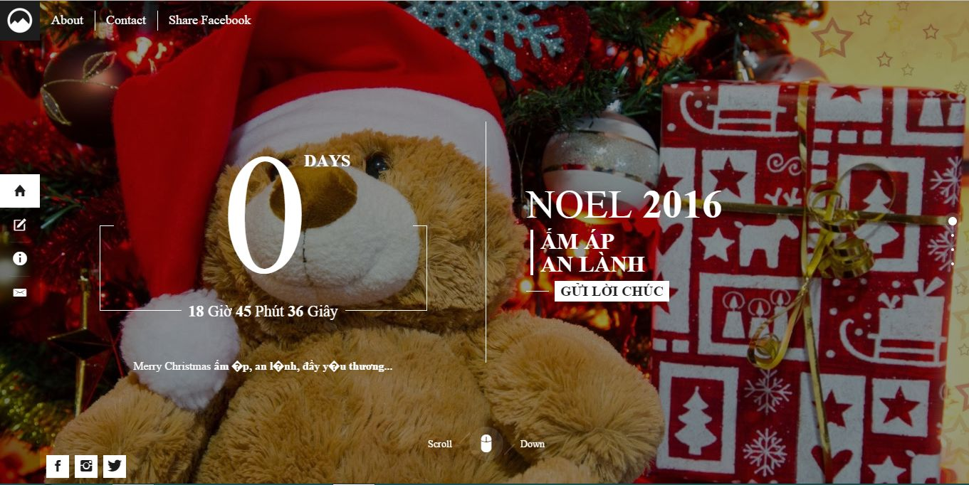 noel - Share code index giáng sinh đẹp 2016