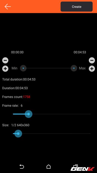tao anh gif tu video ngay tren thiet bi android 4 - Tạo ảnh GIF từ video trên thiết bị Android