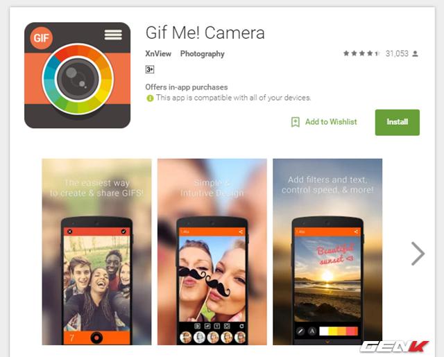 tao anh gif tu video ngay tren thiet bi android - Tạo ảnh GIF từ video trên thiết bị Android