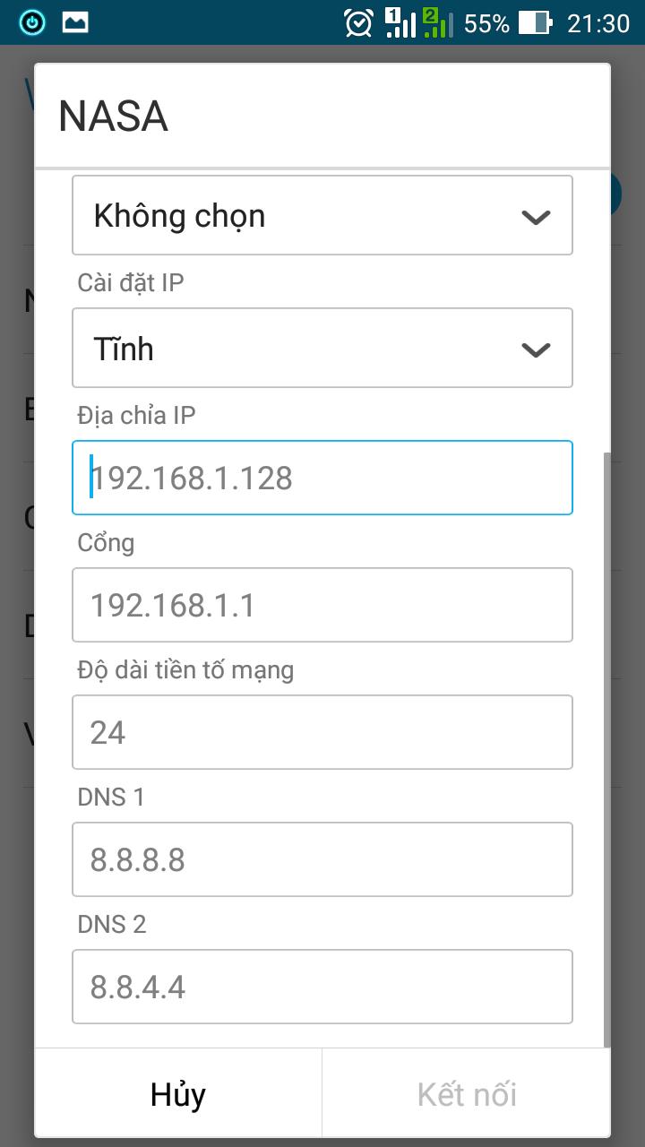 Hướng dẫn thay đổi DNS để truy cập Facebook trên Android và iOS