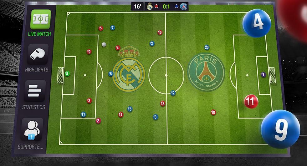 Tổng hợp các game quản lí bóng đá nổi tiếng trên Android và iOS