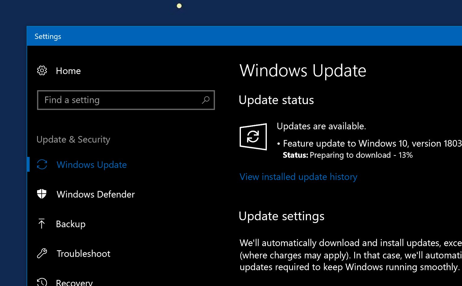 4299542 cover home da co Windows 10 April 2018 - Mời tải về file ISO Windows 10 April 2018 Update ver 1803 mới nhất
